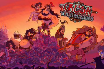 Crush Your Enemies - Key Art