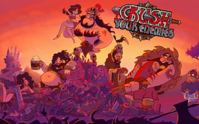 Crush Your Enemies - Key Art