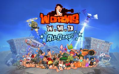 Worms WMD_AllStars_KeyArt_PCOnly_TF2